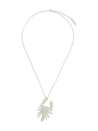 Ambush Scorpio Pendant Necklace | Farfetch.com