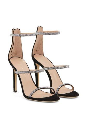 Giuseppe Zanotti Harmony Strass Sandals - Farfetch