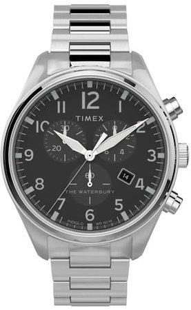 Waterbury Traditional Chronograph Bracelet Watch, 42mm