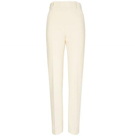 Slim Flat-Front Pant