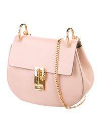 Chloé Drew Crossbody Bag - Pink Crossbody Bags, Handbags - CHL180077 | The RealReal