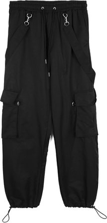 OPEN THE DOOR Strap Cargo Jogger Pants - Men | Joggers & Sweatpants for Women | KOODING