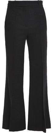 Cotton-blend Tweed Flared Pants