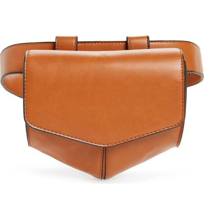 Leith Faux Leather Utility Belt Bag | Nordstrom