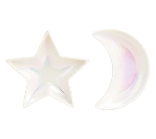 HOLOGRAPHIC DISH 2PK: LUCKY STARS