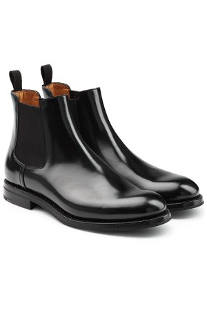 Patent Leather Chelsea Boots Gr. EU 41