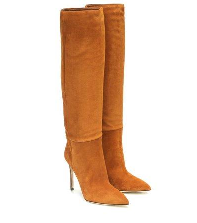 Suede Knee-High Boots - Paris Texas | Mytheresa
