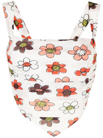 Shop Miaou Tati scarf top with Express Delivery - FARFETCH