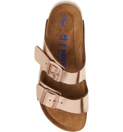 Birkenstock 'Arizona' Soft Footbed Sandal (Women) Pink