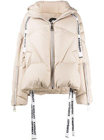 Khrisjoy Hooded Padded Jacket - Farfetch