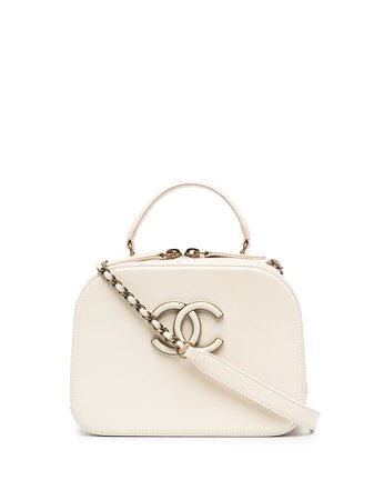 Chanel Pre-Owned Coco Curve two-way bag - FARFETCH