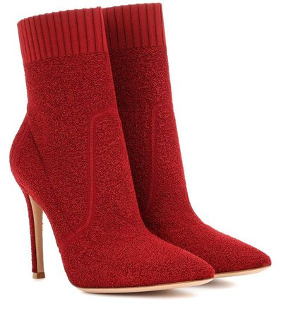 GIANVITO ROSSI Fiona 105 ankle boots.