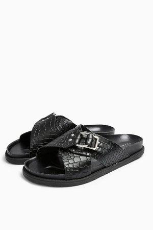 HILTON Footbed Sandals | Topshop