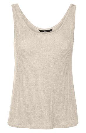 VERO MODA Hanna Rib Sweater Tank | Nordstrom