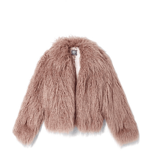 Vince Camuto Faux Fur Jacket for $140.00 available on URSTYLE.com
