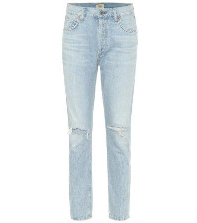 Citizens of Humanity - Liya high-rise skinny jeans   Mytheresa