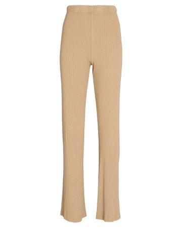 SABLYN Nari Flared Rib Knit Pants | INTERMIX®