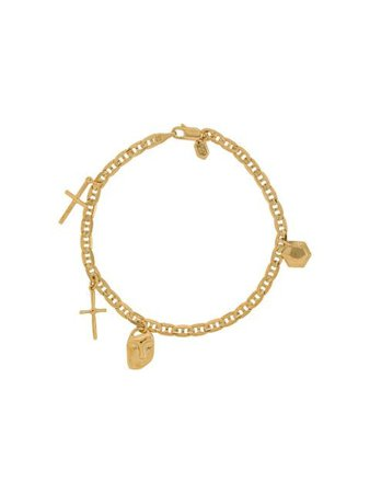 Gold Maria Black Friend Charm bracelet - Farfetch