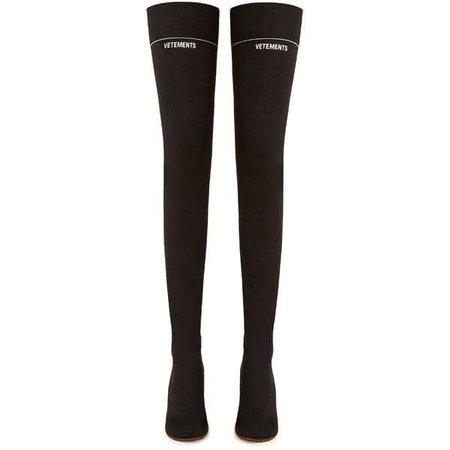 Knee-high Sock Boots