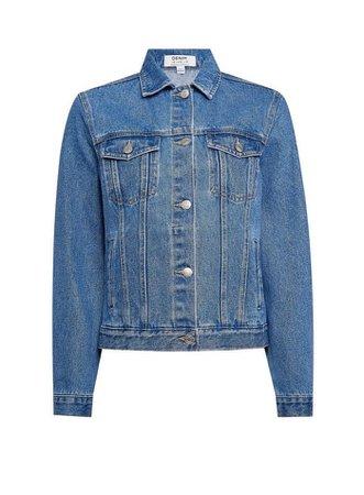 Indigo Organic Cotton Denim Jacket | Dorothy Perkins