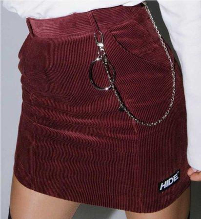 mixxmix Korean fashion skirt