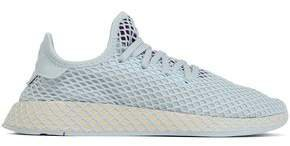 Deerupt Runner Mesh-appliqued Stretch-knit Sneakers