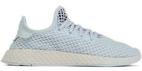 Deerupt Runner Mesh-appliqued Stretch-knit Sneakers