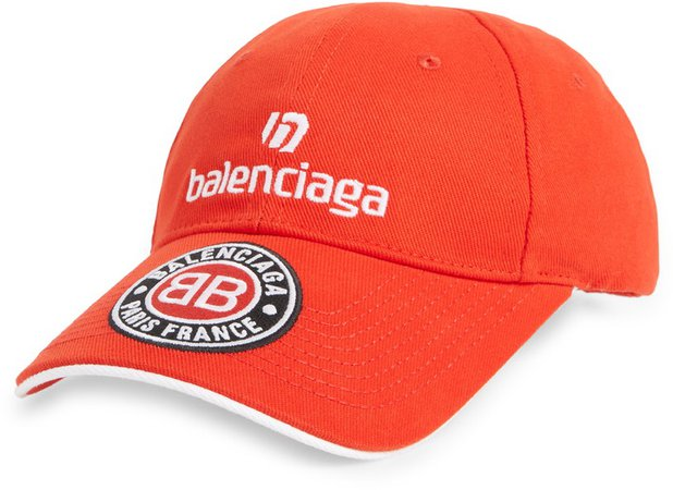 Soccer Logo Baseball Cap