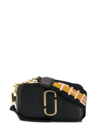 Marc Jacobs The Logo Strap Snapshot Crossbody Bag - Farfetch