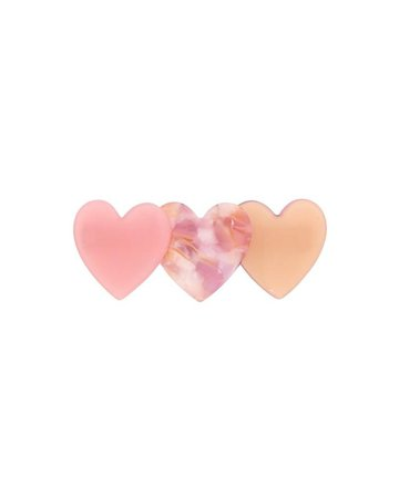 LIGHT pink resin hair clip - Google Search