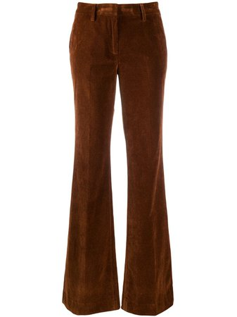 BRAG-WETTE Flared Corduroy Trousers - Farfetch