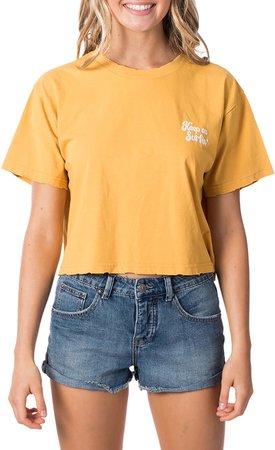 Keep On Surfin Crop T-Shirt