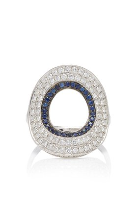 Ralph Masri Modernist Circular Ring
