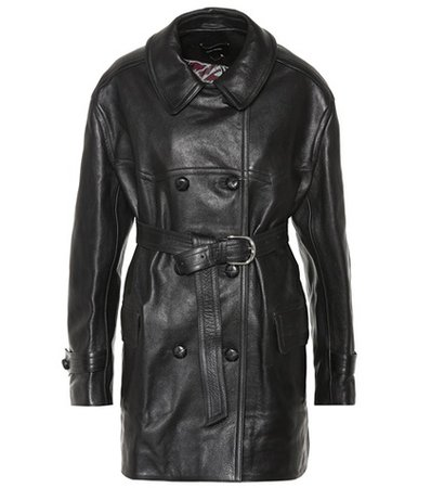 Chili leather coat