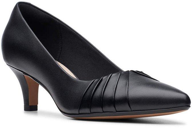 Women's Pumps Black - Black Linvale Crown Leather Pump - Women