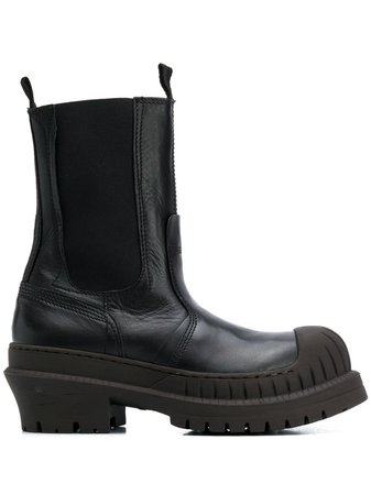 Acne Studios Chunky Sole Ankle Boots - Farfetch