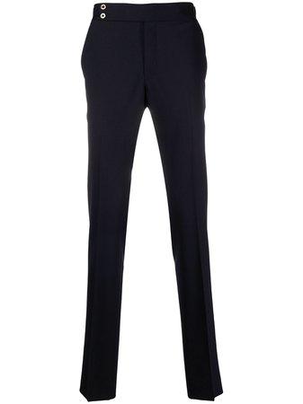Pt01 straight-leg cotton trousers - FARFETCH