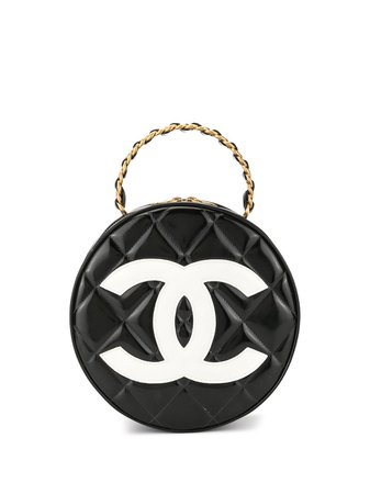 Chanel Pre-Owned Sac à Main Matelassé à Logo - Farfetch