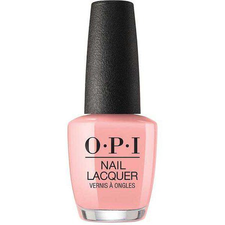 Blush-Pink Nail Polish (OPI)