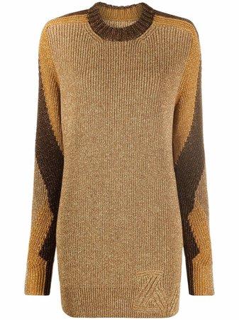 Zadig&Voltaire metallic-threaded knitted jumper - FARFETCH