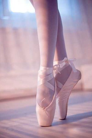 ballett pointe shoes