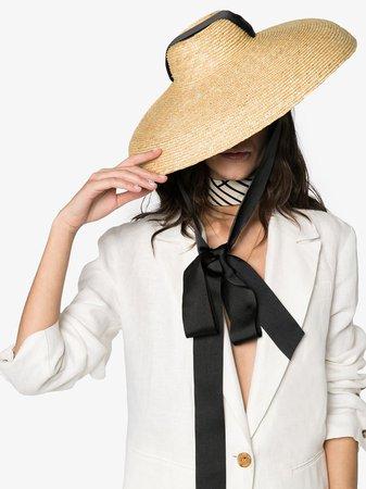 Eliurpi CAMPANA Straw Hat Ss20 | Farfetch.com