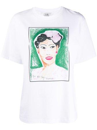 Victoria Victoria Beckham Billie Print T-shirt - Farfetch