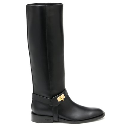 Givenchy, Eden Leather Knee-High Boots