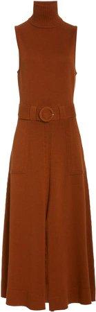 Mara Hoffman Elle Belted Cotton Dress
