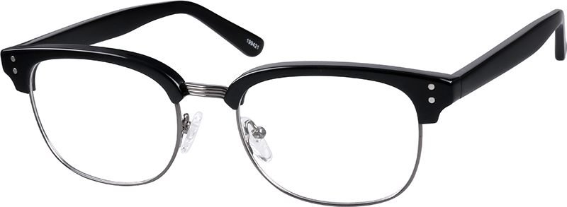 Black Browline Glasses #199421