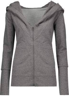 Cotton-blend Hooded Sweatshirt