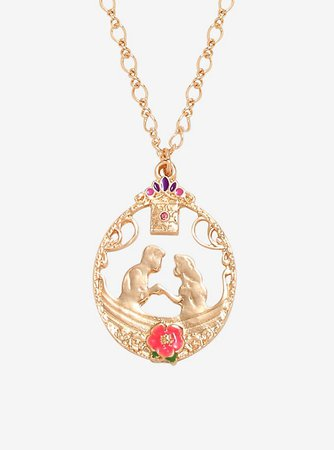 Disney Tangled Boat Pendant Necklace