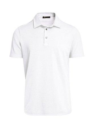 Loro Piana Pique Polo Shirt | SaksFifthAvenue