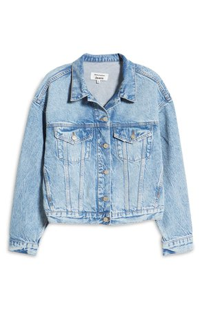 Reformation Madison Relaxed Jean Jacket | Nordstrom